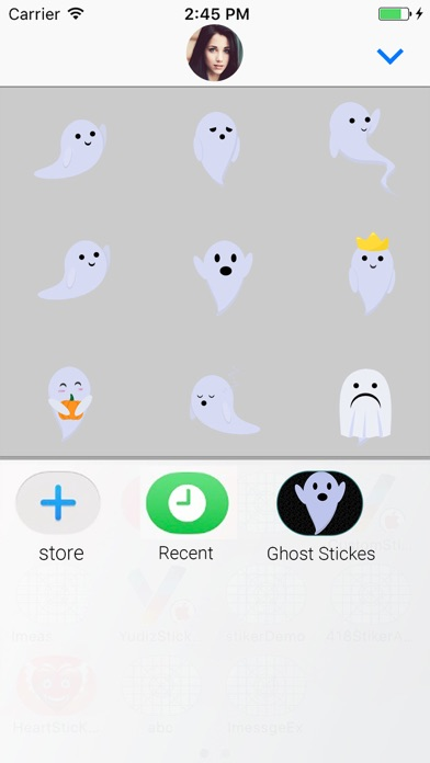 Ghost: Animated Stickers screenshot four