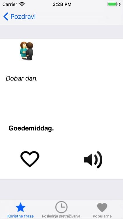 Useful Dutch Slovenian phrases screenshot-3