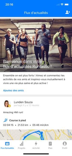 51670d05838a75 Runtastic Course et Fitness dans l App Store