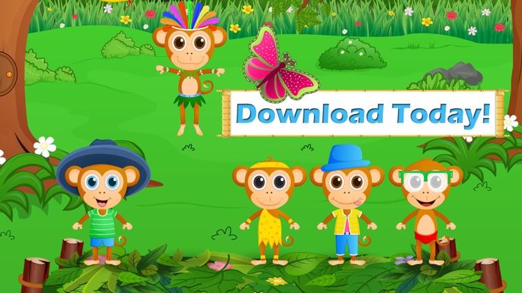 Five Little Monkeys Jumping screenshot-3