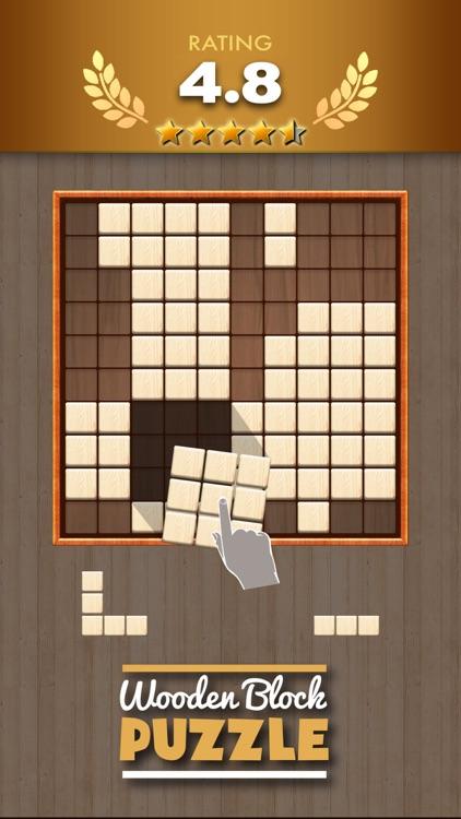 Wooden Block Puzzle Game screenshot-0