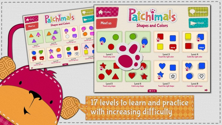 Patchimals - Shapes and colors screenshot-2
