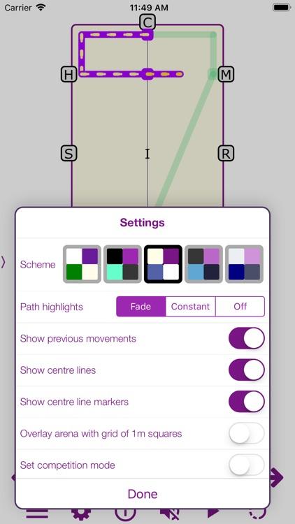 TestPro: FEI Dressage Sampler screenshot-4
