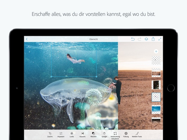 Adobe Photoshop Mix-Fotomontagen und Collagen Screenshot
