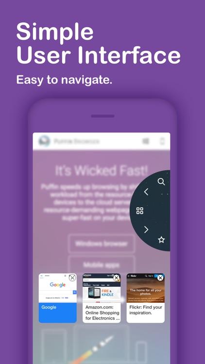 Puffin Browser Lite screenshot-4