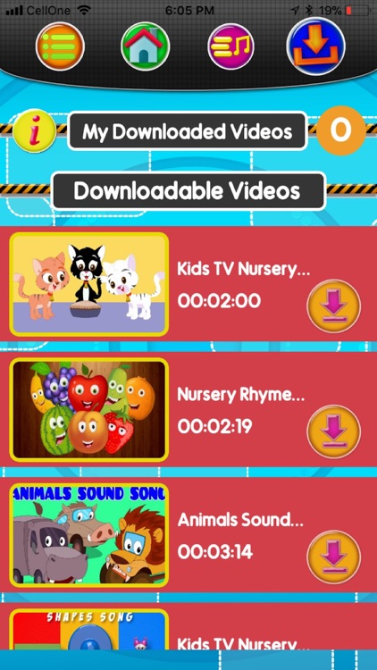 Nursery Rhymes World for Kids screenshot-9