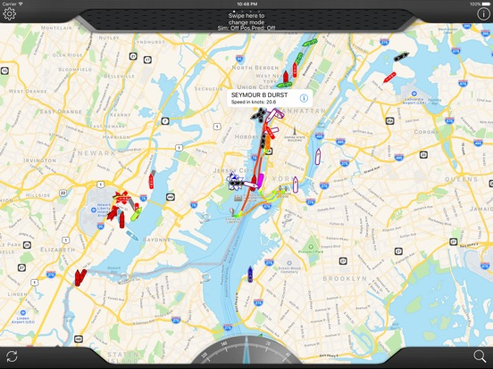 TrackaShip Live Marine Traffic Screenshots
