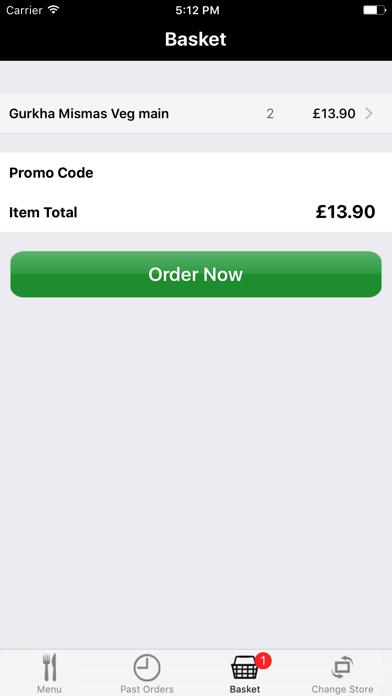 Yak and Yeti Online Ordering screenshot three