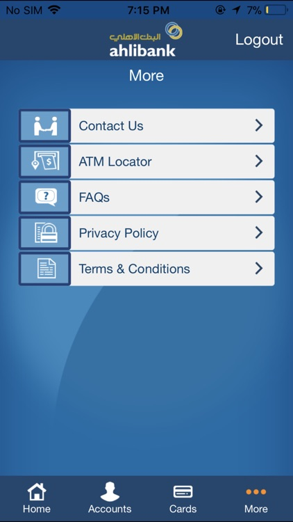 Ahlibank M-Bank screenshot-3