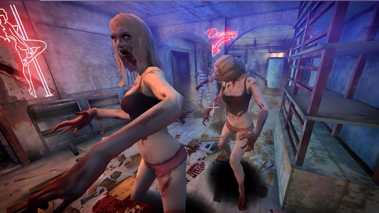 VR Zombie Warfare screenshot-3