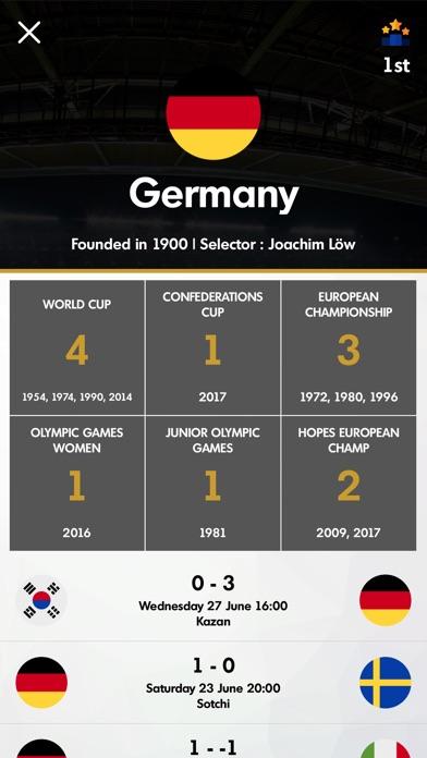 Russia 2018 - Footballのスクリーンショット3