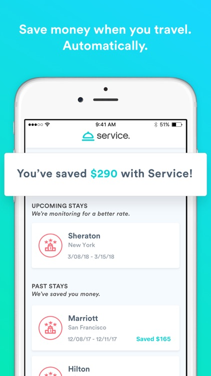 Service: travel and save money screenshot-0