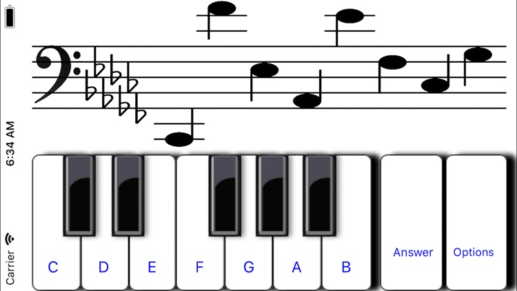 ¼ learn sight read music tutor screenshot-3