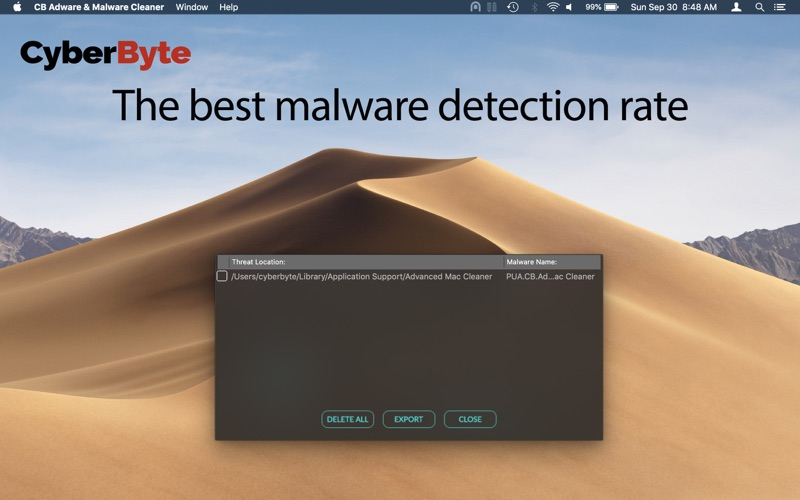 CB Adware & Malware Cleaner Screenshots