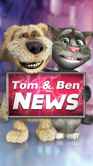 トーキング・トムとベンのニュースのスクリーンショット1