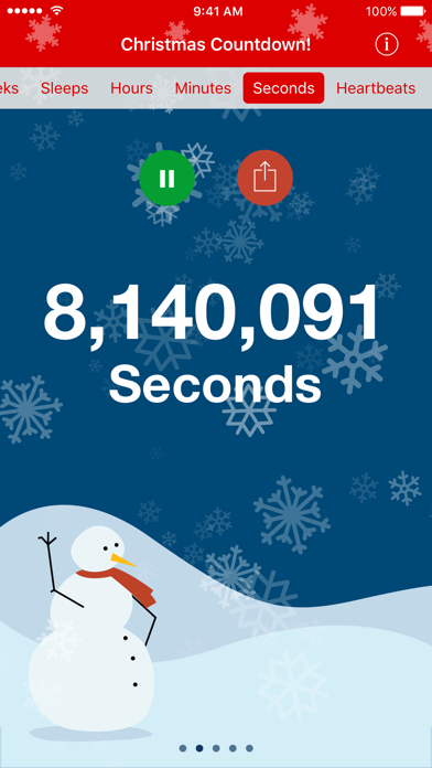 Christmas Countdown Premium review screenshots