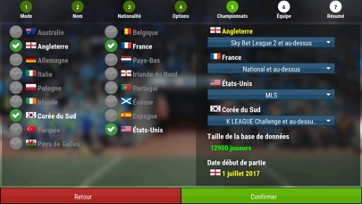 Screenshot #1 pour Football Manager Mobile 2018