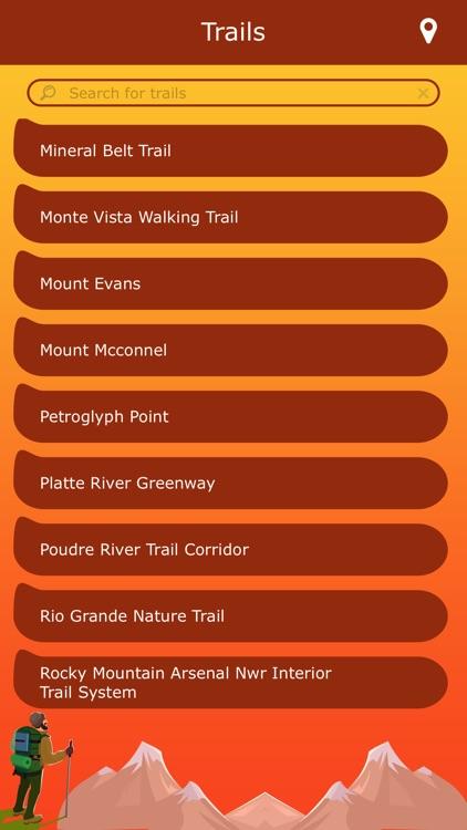 Colorado Hiking Trails