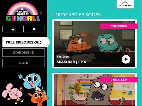 Cartoon Network tablet App screenshot 4