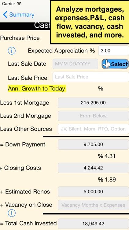 GoldMine Rent Analyzer-USA