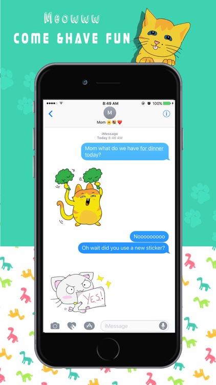 Funny Cat Emoji Stickers