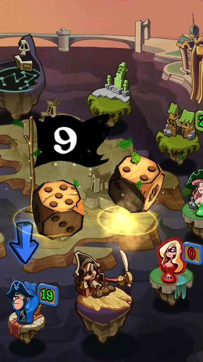 Pirates War: Dice Battle Arena Screenshot