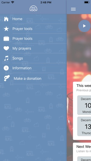 Pray As You Go on the App Store