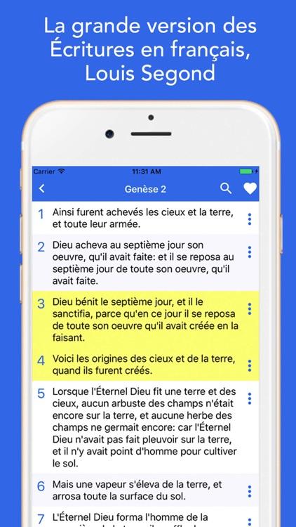 Bible Louis Segond screenshot-3