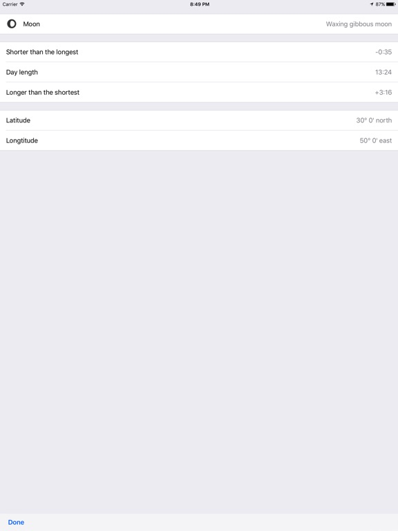 Calendarium – Everything about this day Screenshot