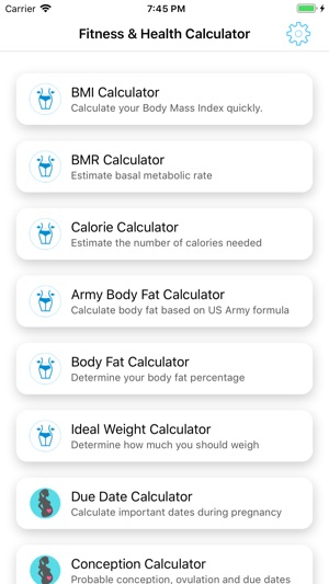 Fitness and Health Calculators on the App Store