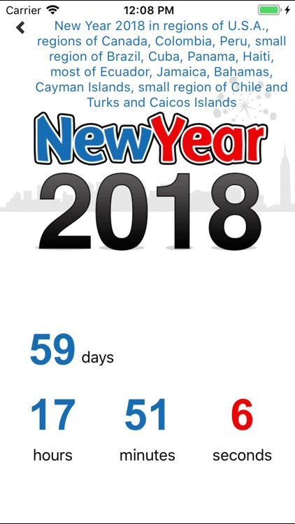 New Years Countdown 2018