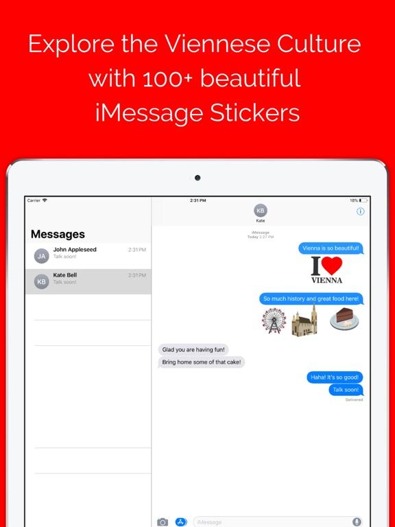 Vienna Sticker Pack - iMessage-ipad-0