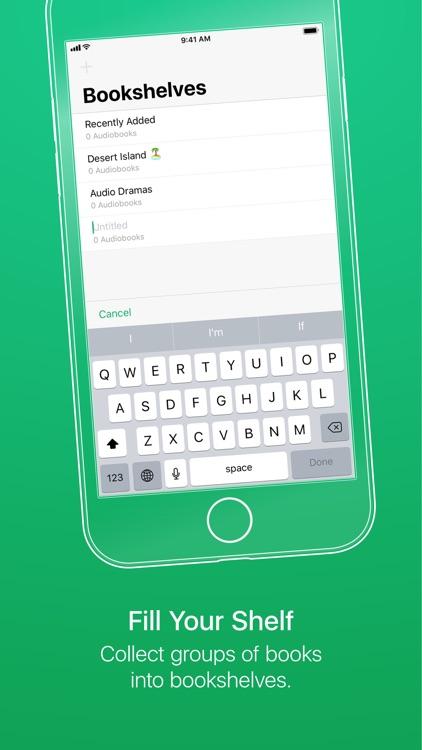 GreenLit Audiobook Player screenshot-4