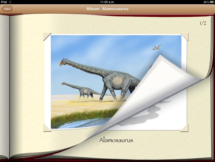 Dinosaur Book HD: iDinobook screenshot-3