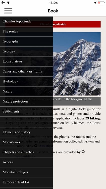 Chelmos topoguide screenshot-3
