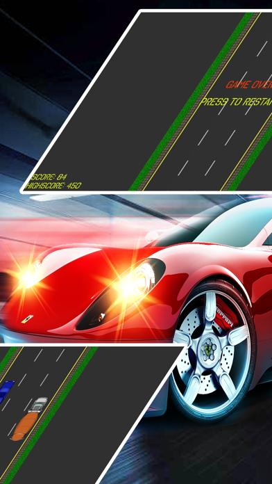 2D Infinite Car Racing