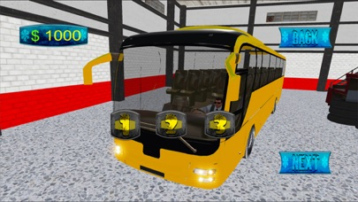 Hill Bus Driver 3d 2017 Mania screenshot 2