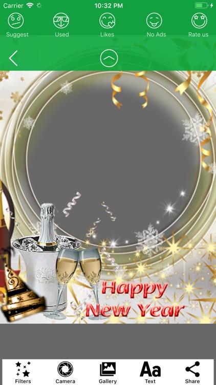 2019 Happy New Year Frames HD screenshot-4
