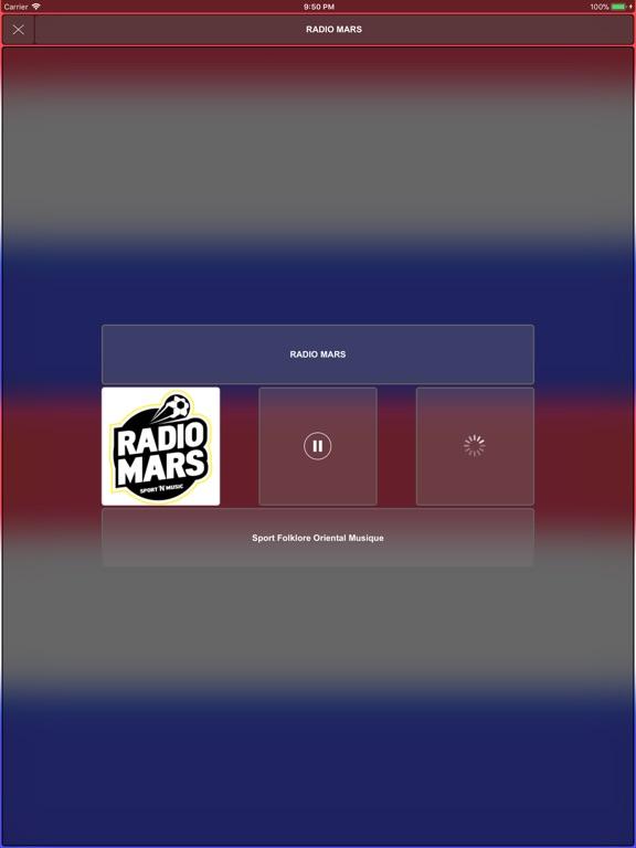 Maroc Radios الإذاعات المغربية-ipad-1