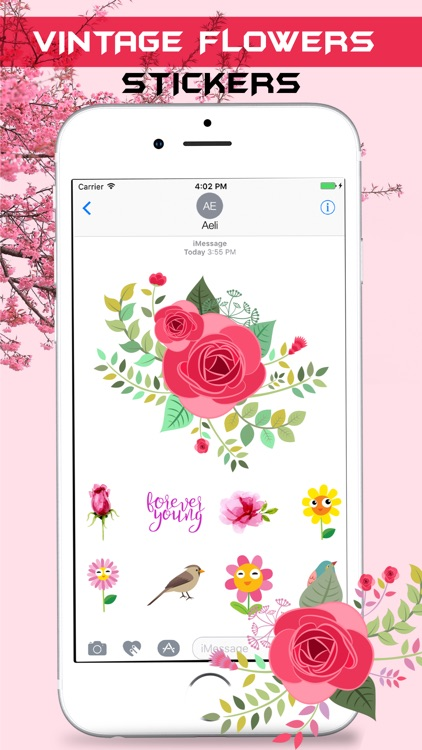 Vintage Watercolor Stickers Pack