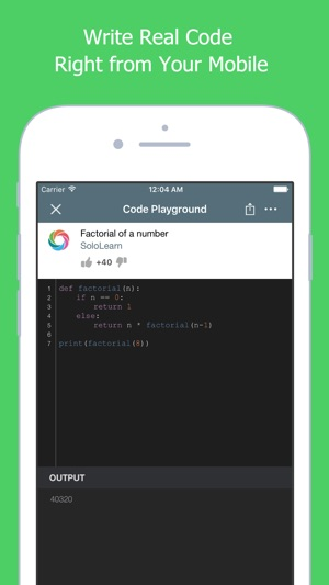 Learn to Code with Python on the App Store