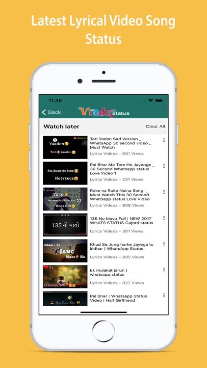 Lyrical Video Status screenshot-4