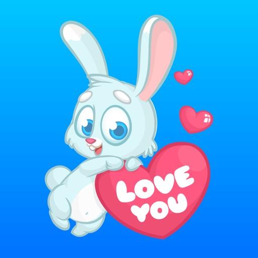 Bunny Little Rabbit Stickers