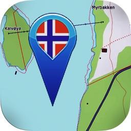 Topo maps - Norway