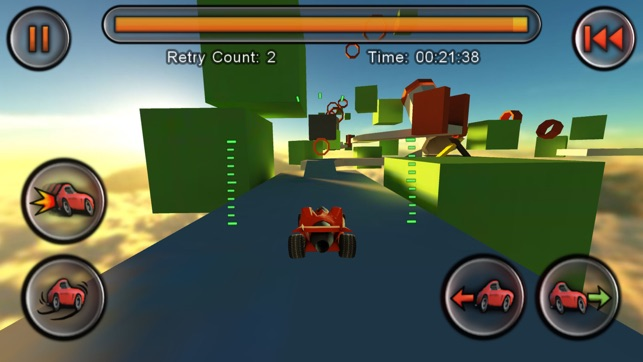 flying jet car game