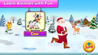 Santa Run - Learning FlashCard screenshot 4