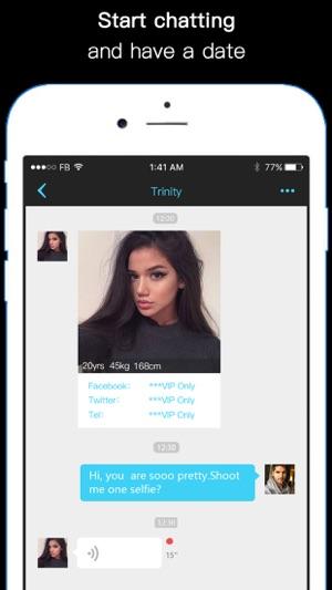 Hook up app iphone