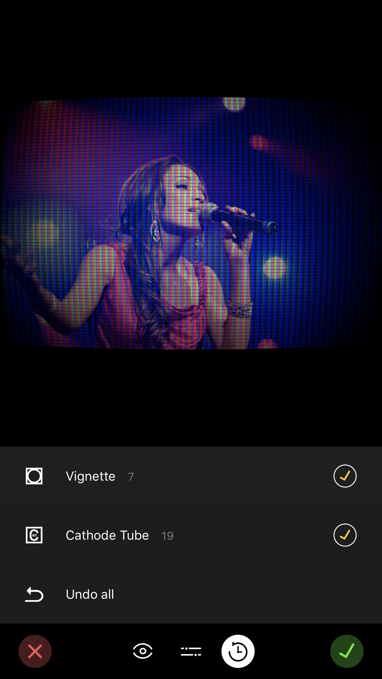 Screenshot do app Filter Candy