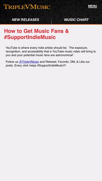 TripleVMusic App screenshot-3