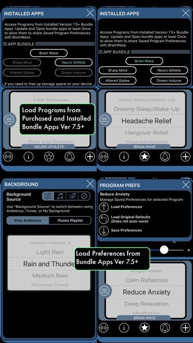 BrainWave: 35 Binaural Series™ screenshot 5